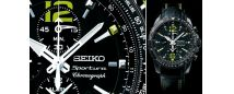 Sportura aviation chronograph – Seiko's featured Pilots watch.