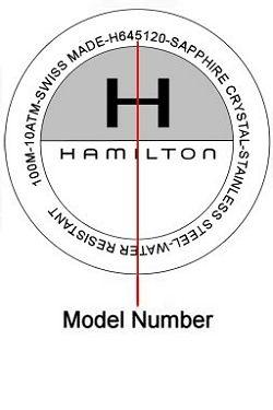 Hamilton watch case back - repairs servicing