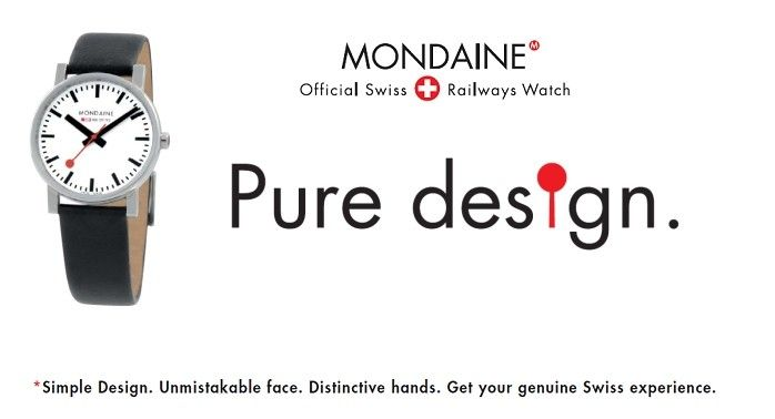 Mondaine - Pure Design