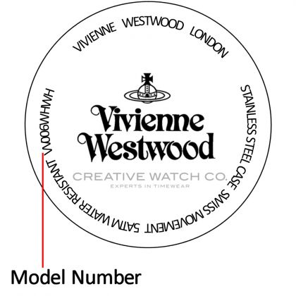 Vivienne Westwood watch case back - repairs servicing